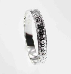Hawaiian Silver Bangle - Black Kuuipo 10mm, * FREE Shipping from Hawaii, 9IN Rainbow Silver Jewelry. $89.97. FREE Shipping & Jewelry Pouch from Hawaii. Bangle Width: 10mm. Length Circumference: 7 1/2, 8, 8 1/2 and 9 inches. Quality .925 sterling silver, Thicker than most other Hawaiian bangle.