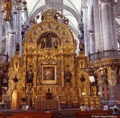 Catedral Metropolitana en la Ciudad de Mexico