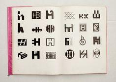 040.jpg (1600×1130)  TRADE MARKS & SIMBOLS Volume 1: Alphabetical Designs | YASABURO KUWAYAMA #logo #design #Inspiration #graphic #shape #best #awesome #typography #best #pactice
