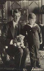 Princes Wilhelm and Lennart of Sweden