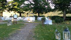 Garden wedding reception  @violamalva  at Fonte de Medici