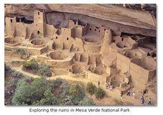 into the Desert's Past - Mesa Verde NP, Crow Canyon, Anasazi