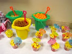 Cute for a beach party at the end of the school year. Cute for a beach party at the end of the school year. Spongebob Birthday Party, Luau Birthday, 3rd Birthday Parties, Spongebob Party Ideas, Birthday Ideas, Frozen Birthday, Moana Birthday, Mermaid Birthday, Birthday Celebrations