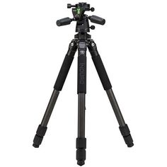 nduro Stealth Carbon Fiber Series 3 Tripod Kit with PHQ3 5-Way Panhead, 3 Sections