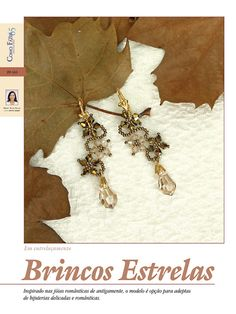 BIJOUX MAGAZINE: How To - Star Earrings