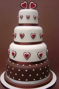 Valentine's Day Cake themed