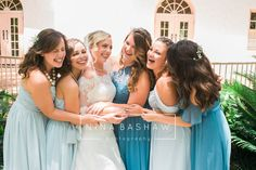 Bridesmaids photos Tallahassee, FL | Columbia wedding photographer | Charleston wedding photographer | Nina Bashaw Photography