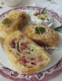 Strudel, Potato Salad, Pizza, Potatoes, Mexican, Snacks, Ethnic Recipes, Food, Hungarian Recipes