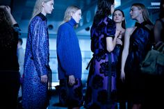 Christopher Kane sent his fans into a purple haze, after another standout collection. Undoubtedly, the hottest ticket of the week.
