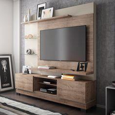 Deixe sua #sala mais incrível ainda com este #Home! A #decoração vai ficar maravilhosa! #MadeiraMadeira #design