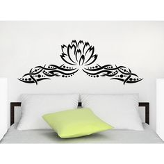Decals Lotus Flower Wall Art Sticker Decal