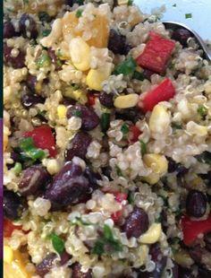 Tone It Up - Recipe Profile - Quinoa Salad with Lemon Vinaigrette