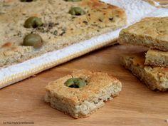 focaccia senza glutine con farine naturali