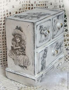 Painted Toy Chest ~ Todo transfer (pág. 207) | Aprender manualidades es facilisimo.com