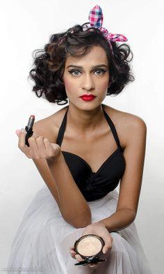 Teaser from today's shoot. Model : @sanaitaj , MUA @hairsprayandtheartist , Styling by @beg_steal_borrow . #goa #india #decade #photoshoot #fashion #fashionphotographer #hairstyles #makeup #makeupartist #stylist #model #crew #beautiful #trend #picoftheday #instagood #instapic #nikon #elinchrom #headbands #1950s #headscarf #polkadots #lipstick . To work or collaborate visit www.fotomanipulationz.com