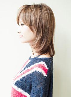 【ミディアム】サラッとひし形ミディ/AFLOAT JAPANの髪型・ヘアスタイル・ヘアカタログ|2019秋冬 Japan Woman, Medium Hair Styles, Hair Cuts, Hair Beauty, Hairstyle, Model, Ideas, Fashion, Haircuts