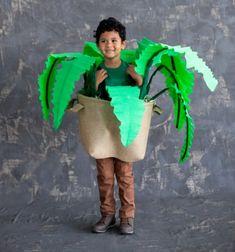 DIY Houseplant costume for kids - Halloween costume idea // Vicces szobanövény jelmez gyerekeknek - farsangi jelmez ötlet // Mindy - craft tutorial collection // #crafts #DIY #craftTutorial #tutorial