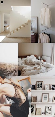 Inspiration moodboard in neutral hues by My Paradissi
