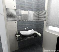 бело-серые ванные комнаты - Google Search