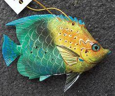 Tropical Fish Tiki Bar & Christmas Ornament Beach Nautical Decor TF011
