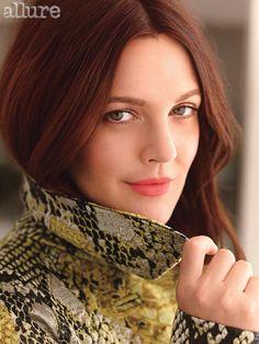 Drew Barrymore in Allure January 2013