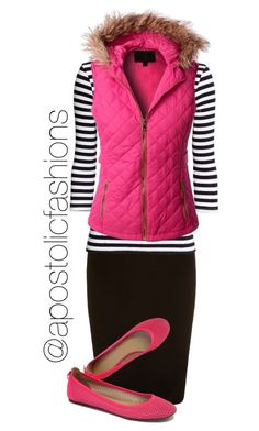 """Apostolic Fashions #1201"" by apostolicfashions on Polyvore featuring LE3NO and J.Crew"