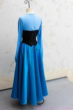 Ariel Mermaid 'Kiss the Girl' Town Dress by LindsayJaneDesign
