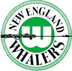 New England Whalers Logo // 1972 - 1979