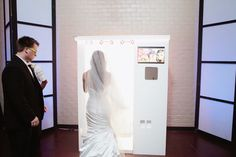 Wedding Photo Booth, Bride   Dallas, TX Real Wedding by Kelly Rucker Photography | Wedding Ideas and Inspiration Blog