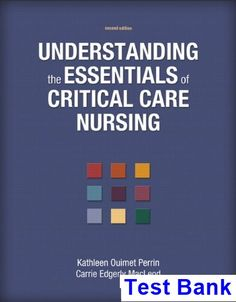 Test bank essentials of pediatric nursing 2nd edition by kyle test bank for understanding the essentials of critical care nursing 2nd edition by perrin critical care nursingtextbookmanualkeybanksessentialsunique fandeluxe Images