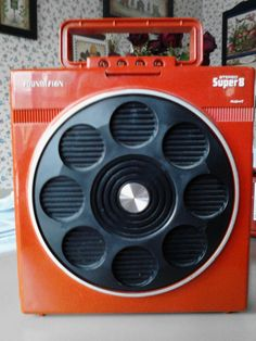 vintage stereo portable | RARE Vintage 1970's Soundesign Portable Stereo Super 8 8 Track Player ...