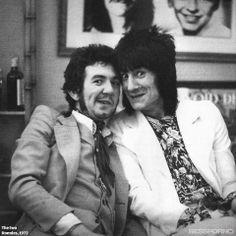 Ronnie Lane & Ron Wood