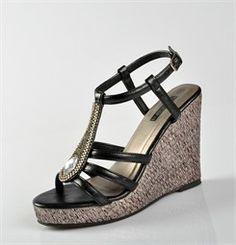 Chaussures FEMME - SANDALES NOIR - MASCARA - Chaussures Desmazieres