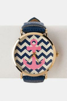Nautical trend - Bridgeport Anchor Watch in Navy