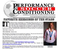 Check Out Kristine Lilly favorite exercise: Stadium Stairs