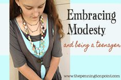 Embracing modesty and being a teenager -- The Pennington Point