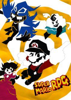 Geno Super Mario Rpg, Super Mario Art, Mario Bros, Fire Emblem, Puppets, Mushroom, Videogames, Nintendo, Cartoons