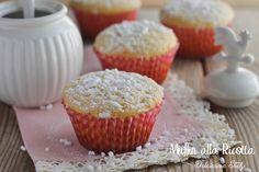 Muffin alla Ricotta,ricetta leggera