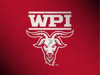 Worcester Polytechnic Institute Athletics designed by Joe Bosack. Worcester Polytechnic Institute, Sports App, Sports Logos, Athletics Logo, Athlete, Logo Design, Branding, Beer Pong, College Life