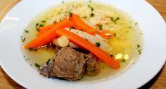 Marhahúsleves recept