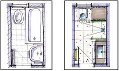 Badplanung kleines Bad unter 4m² - Badraumwunder Wiesbaden
