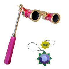 HQRP 3 x 25 Opera Glass Binocular w/ Built-In Extendable Handle / Pink-pearl with Gold Trim by HQRP plus UV Tester HQRP,http://www.amazon.com/dp/B00A909VQA/ref=cm_sw_r_pi_dp_WDfzsb0A9PZW3NQK