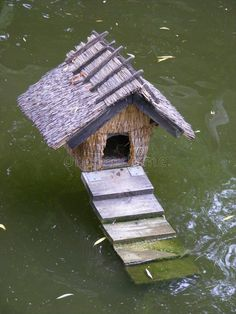 Duck House - Download From Over 65 Million High Quality Stock Photos, Images, Vectors. Sign up for FREE today. Image: 10311356