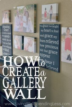 How to Create a Gallery Wall @lwsl | If you're not even sure what you're looking for, getting inspired by other people's brilliant ideas is a great place to start.  I made this inspiration board many years ago, and would look at it often as I was trying to decide exactly what I wanted for my own space.  You might try looking at decorating magazines, or searching on Pinterest.
