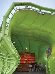 Project Name: Wanderlust Location: Paris, France Firm: Jakob + MacFarlane Square Feet: 21,500