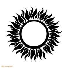 celtic sun tattoos | ... Sun and Moon Tattoo Designs - Tattoos, Tattoo Motives, Tattoo Flash