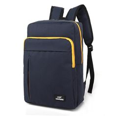 Multifunction Canvas Backpack for Girls Unisex New Arrival Women Backpacks High Quality Trend School bag Laptop Backpack mochila Men's Backpacks, School Backpacks, Canvas Backpack, Laptop Backpack, Modern Backpack, Sack Bag, High School Students, School Bags, Deep Blue