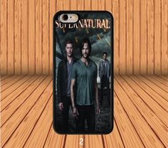 Supernatural Dean And Sam Winchester for iPhone 6/6S  Hard Case Back Cover #designyourcasebyme