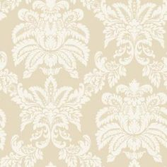 The Wallpaper Company, 8 in. x 10 in. Beige Majestic Damask Wallpaper Sample, WC1281903S at The Home Depot - Mobile