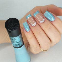 Pretty Nail Art, Manicure And Pedicure, Nail Arts, Toe Nails, Nail Art Designs, Nail Polish, Make Up, Hair Styles, Beauty